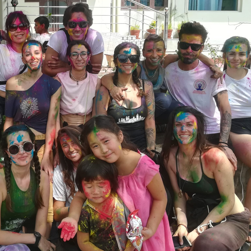 Holi Festival Yoga Retreat in Rishikesh