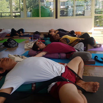 100 Hour Yoga Teacher Training in Rishikesh (Ashthanga & Hatha)