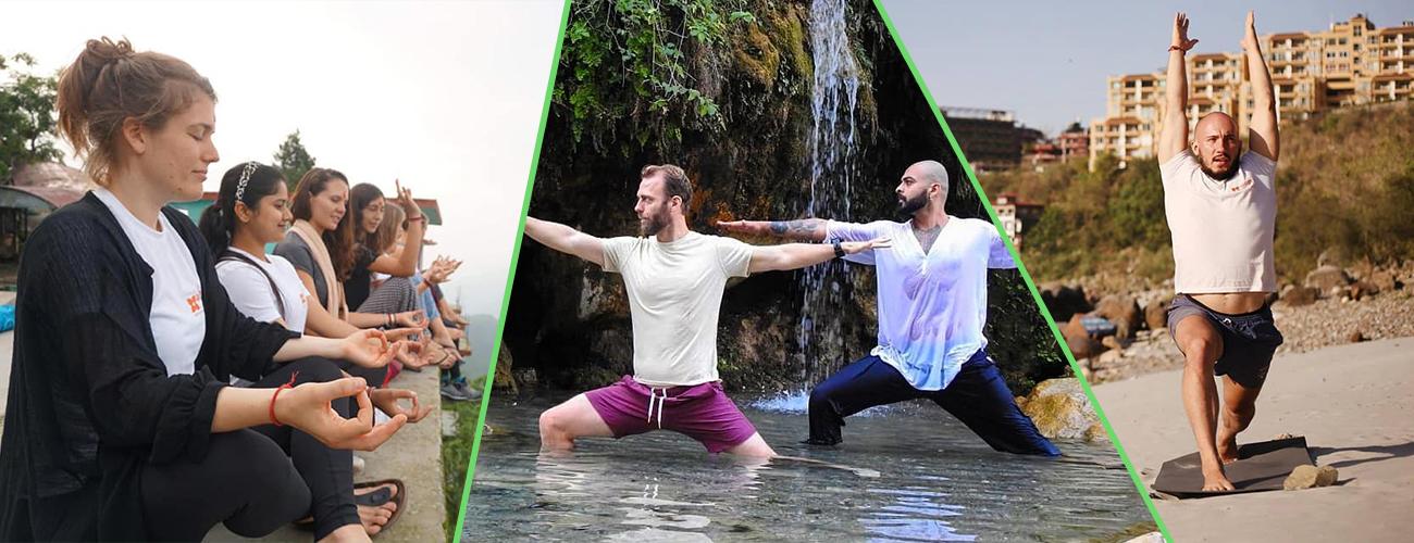 100 Hour Yoga Teacher Training in Rishikesh (Beginners and Intermediate level)