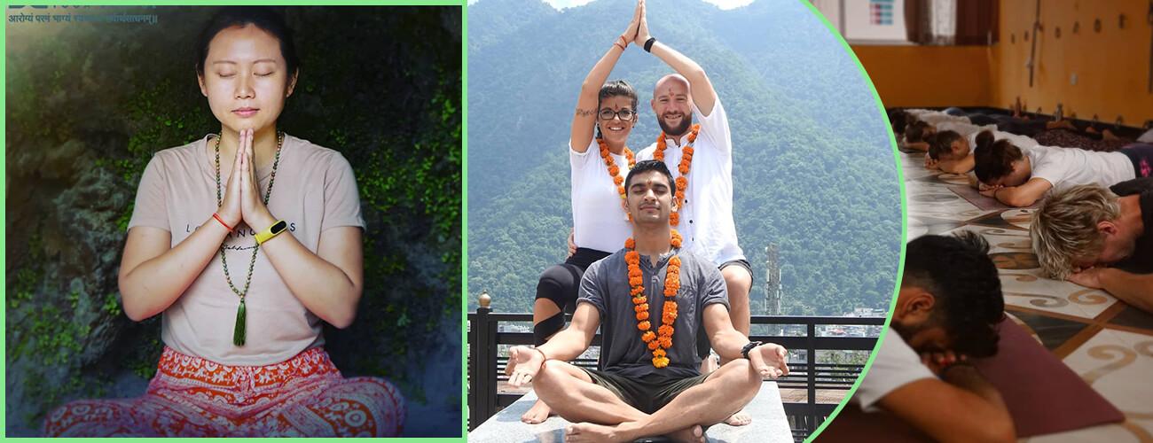 200 Hour Yoga Teacher Training in Rishikesh (Acro Yoga)