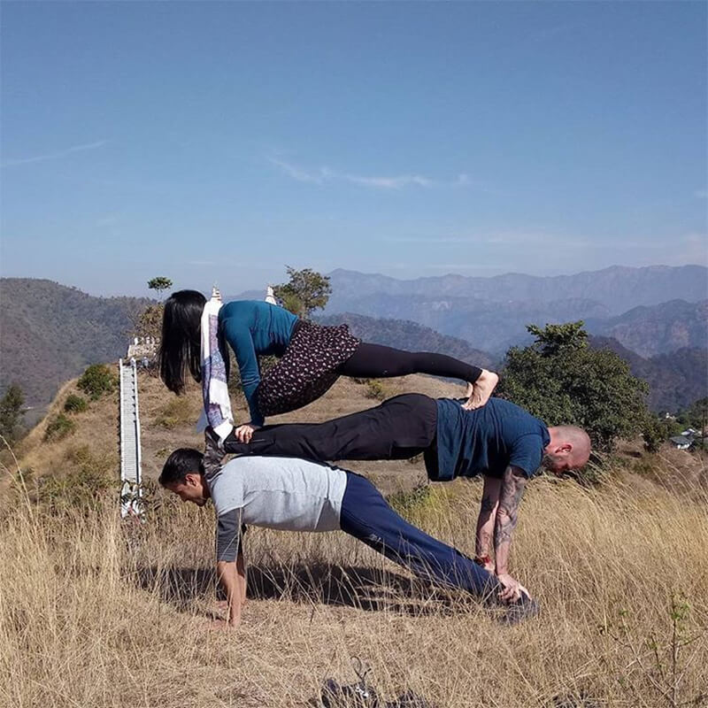 200 Hour Yoga Teacher Training in Rishikesh (Acro Yoga)