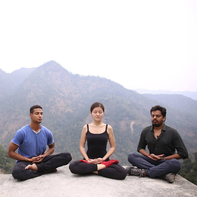 Two-week Himalayan Yoga Retreat in Rishikesh