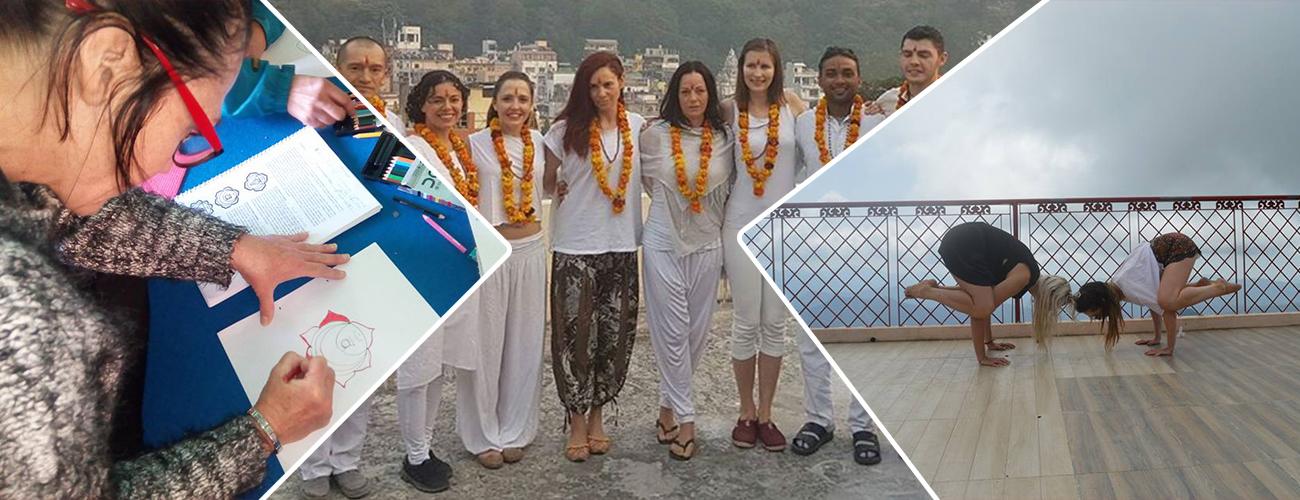 300 Hour Yoga Teacher Training in Rishikesh (Iyenger & Kundalini Style)