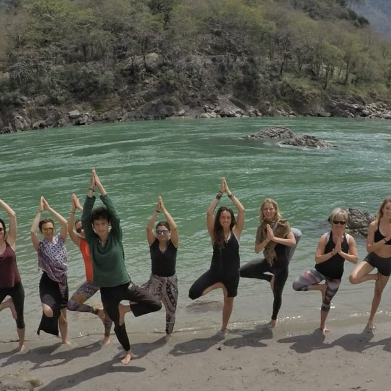 Himalayan Yoga Retreat in Rishikesh, India