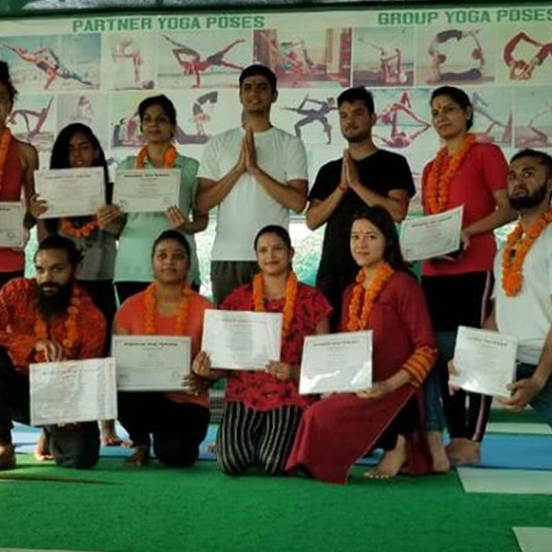 200 Hour Yoga Teacher Training In Rishikesh (Intensive Yoga Training)
