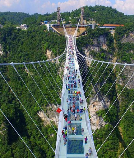 India's  first Glass Floor Suspension Bridge to be built in Rishikesh