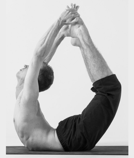 Big Toe Bow -  Padangusthasana  - ( Hatha Yoga )