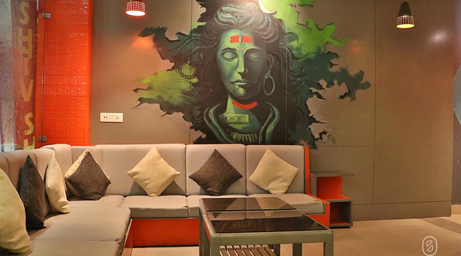 Cheap place to stay Rishikesh Shiv Shakti Hostel