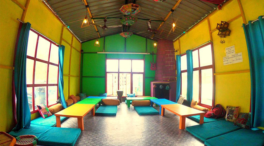 Cheap place to stay Rishikesh Hipostel